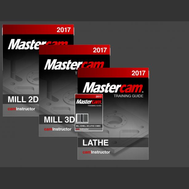 Mastercam 2017 Training Guide - Mill 2D&3D/Lathe - CNCInstructor