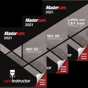 Mastercam 2021 - Mill 2D&3D&Lathe Combo